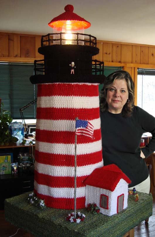 Donna with Lighthouse