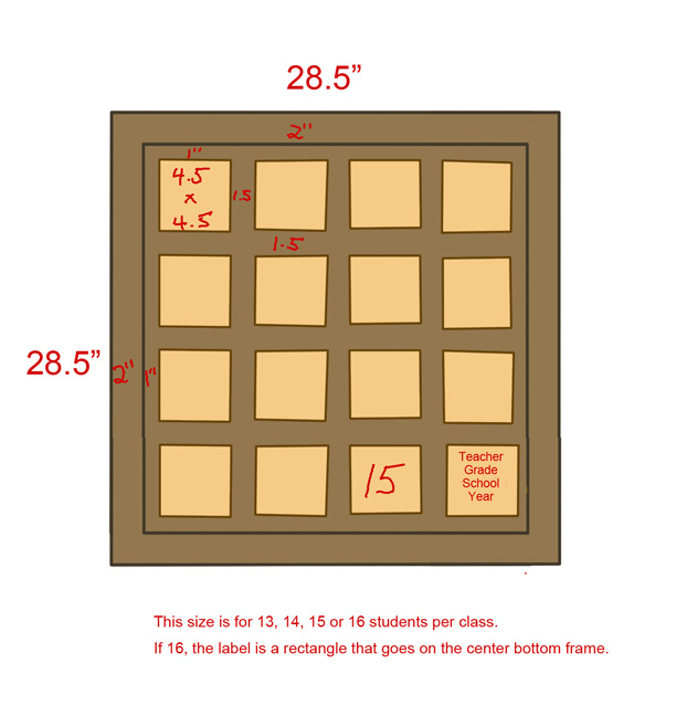 Board Layouts 4x4