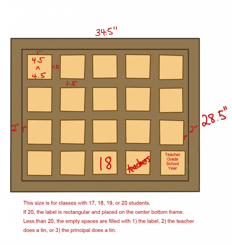 Board Layouts 5x4 18 19