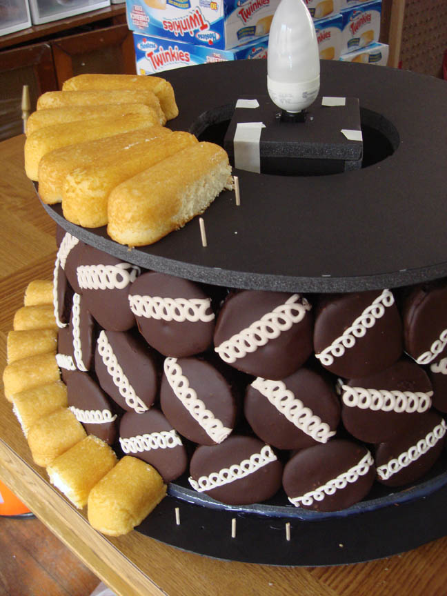 17 Adding Twinkies to Top