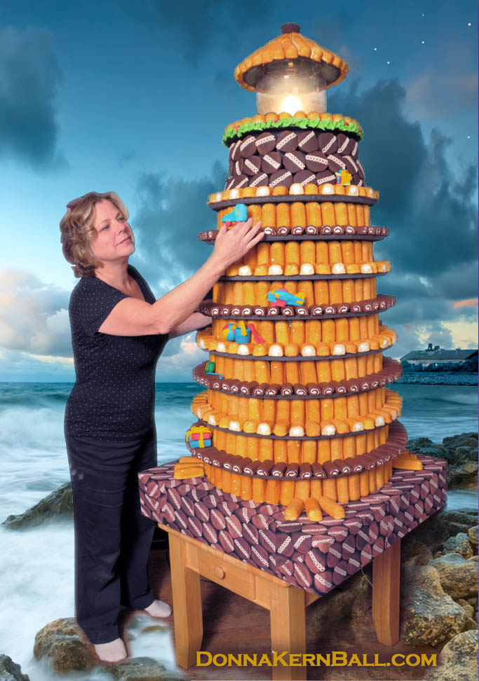 How to Make a Lighthouse Out of Twinkies