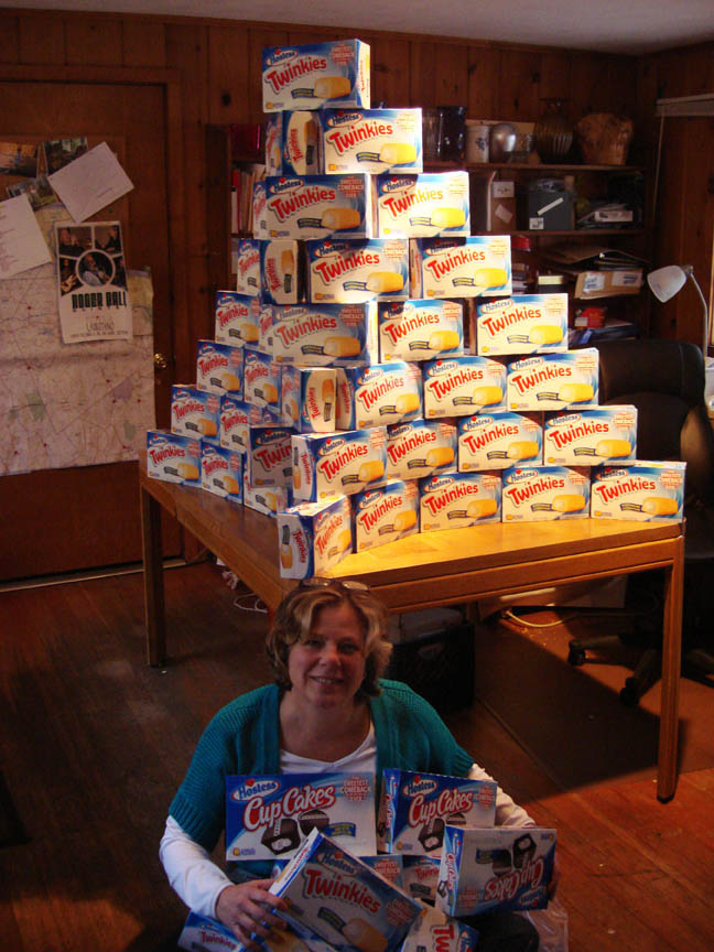 Boxes of Twinkies 72