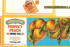 Bigelow Peach Tea