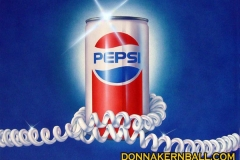 Pepsi Can with Phone Cord